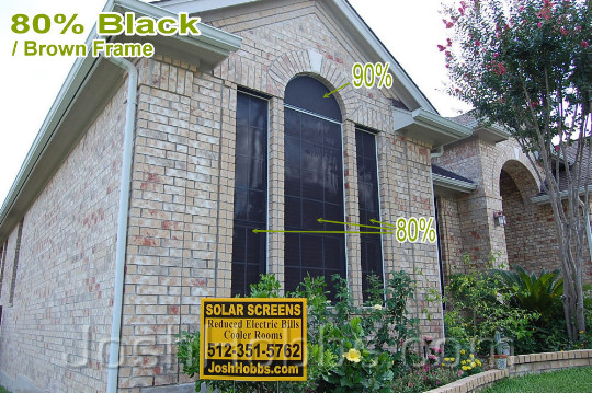 Pflugerville TX Solar Blinds aka Solar Window Screens