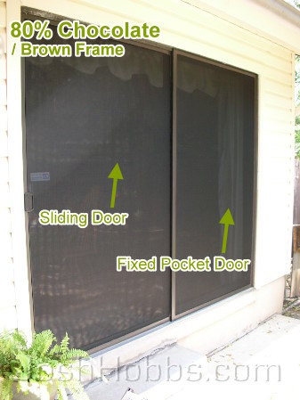 Solar window screens a installer solar screens austin tx for Pocket screens sliding doors
